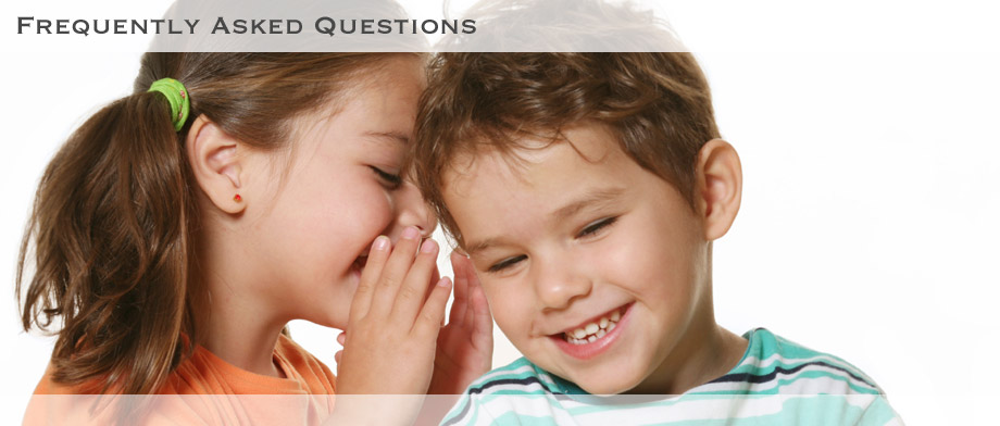 Frequently Asked Questions - Speech Language Therapy
