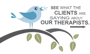 See What Our Clients are Saying About Our Therapists